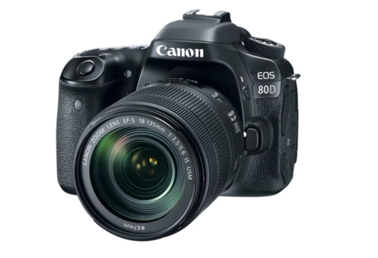 Canon - EOS 80D DSLR Camera  - Black