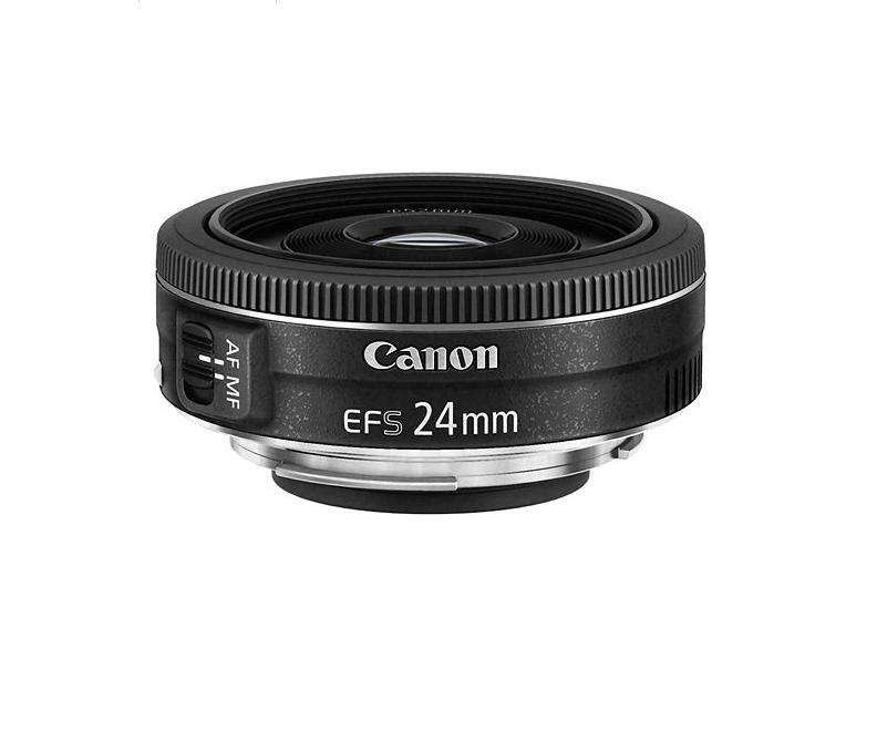 Canon - EF-S 24mm f/2.8 STM Standard Lens for Canon APS-C Cameras